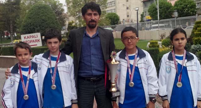 Gaziantep'in satranç başarısı