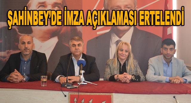 CHP'de gündem değişti