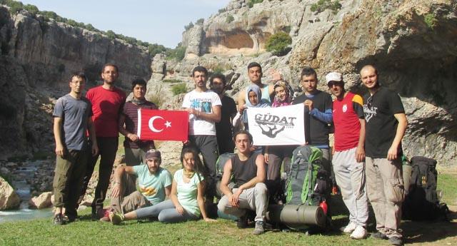 GAÜN'de dağ sporu devam ediyor