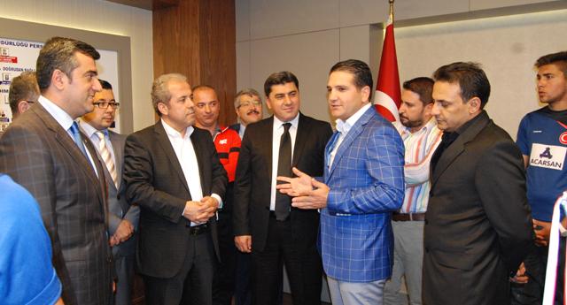 Ali Gezer'i gururlandıran ziyaret
