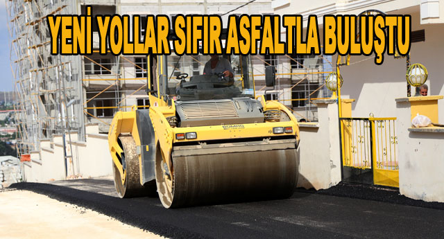 Belediyelerden asfalt hamlesi