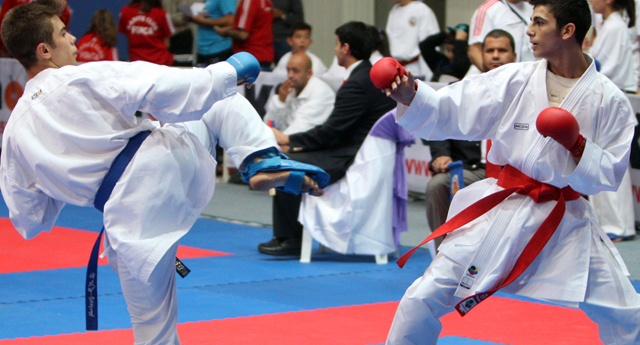 Karate'de ödüller dağıtıldı