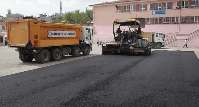 Okullarda asfalt dönemi
