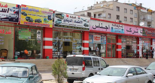 Arapların yeni mekanı
