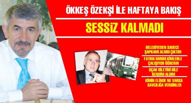 SESSİZ KALMADI