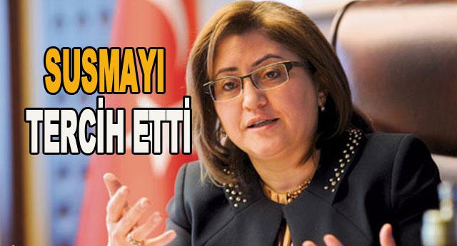 Fatma Şahin konuşmadı