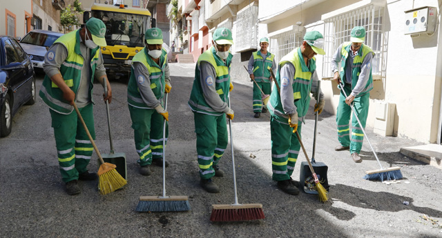 Mahallerde temizlik hamlesi