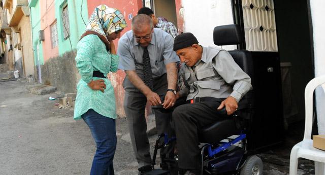 Engellilere hizmette sınır yok