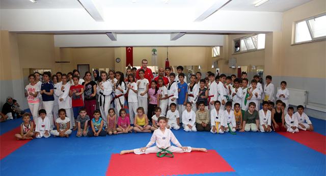 Taekwondoya büyük ilgi