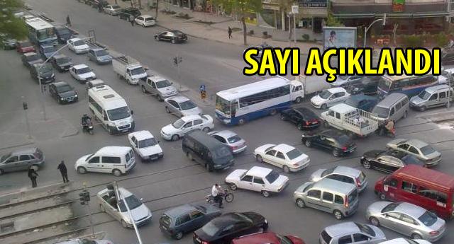 Gaziantep'te kaç bin sürücü var?