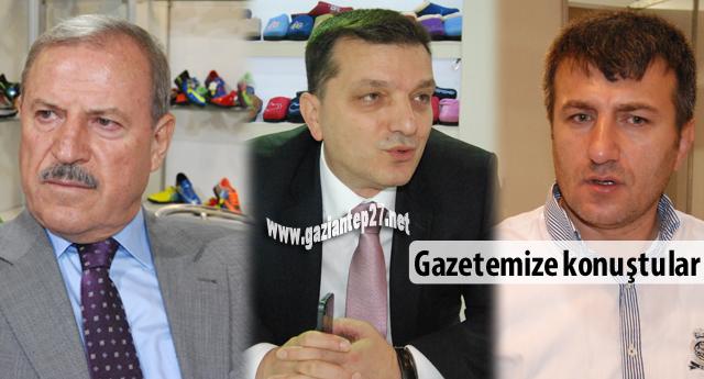 İş adamları Gaziantepspor'u ve Büyükşehir'i değerlendirdiler