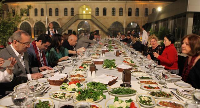 Hasbahçe'de iftar keyfi
