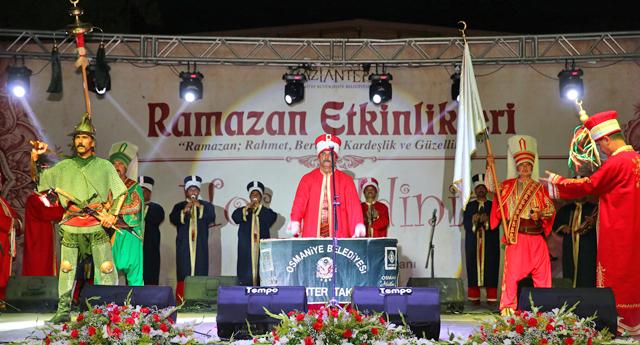Ramazan şenliklerinde büyük coşku