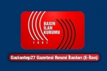 03.07.2014 RESMİ İLAN