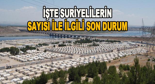 400 bin gayri resmi Suriyeli var