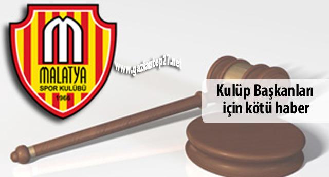 Malatyaspor eski başkan  ve yöneticilere hapis cezası!
