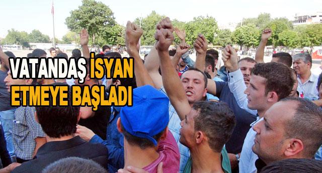 Suriyeli öfkesi eyleme dönüştü