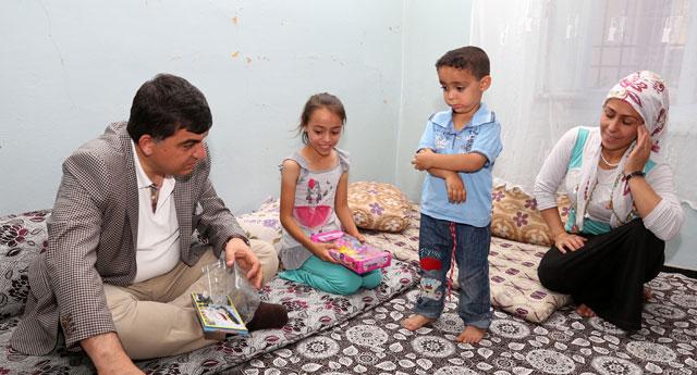 Çat kapı Ramazan ziyareti