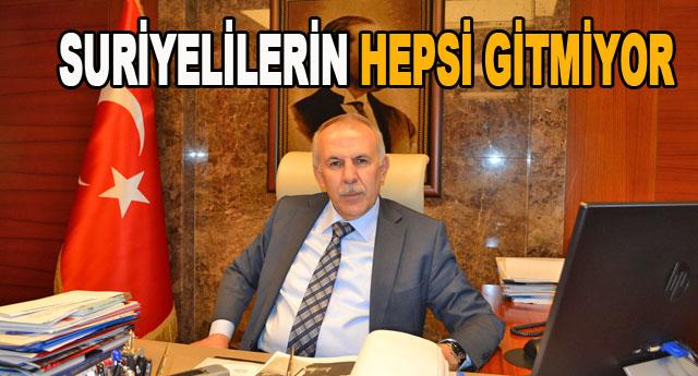 Vali Erdal Ata açıklık getirdi