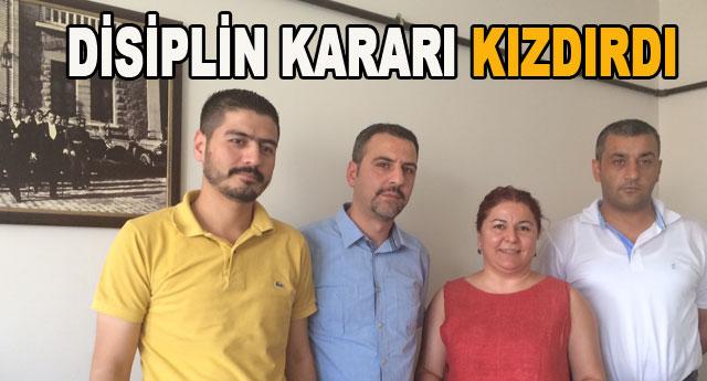 CHP'de öfke istifası