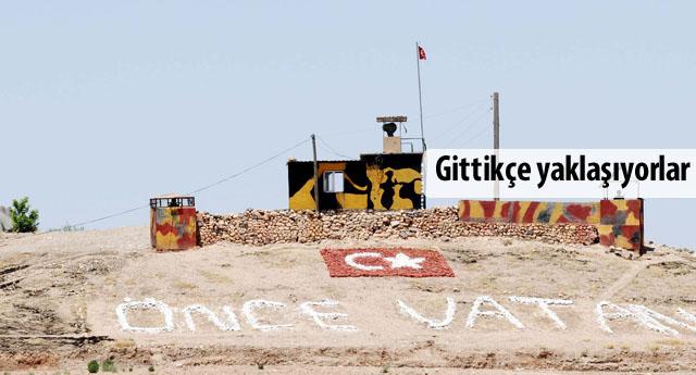 Sınırda IŞİD önlemi