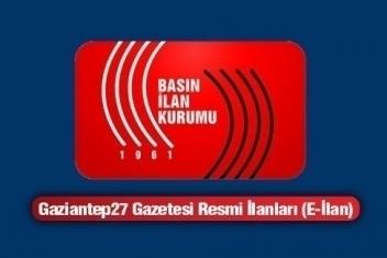 18.07.2014 RESMİ İLAN