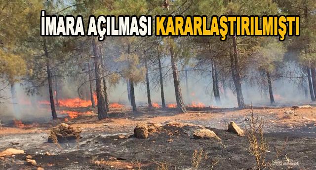 Yamaçtepe'de kafa karıştıran yangın