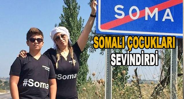 BAYRAMDA SOMA'YA KANAT ÇIRPTI
