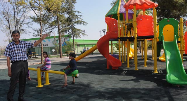 Araziden park hizmeti