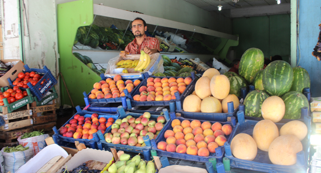 Sebze ve meyveye sıcak darbesi