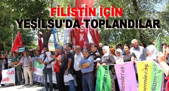 Dünya işçileri Filistin için eylemde
