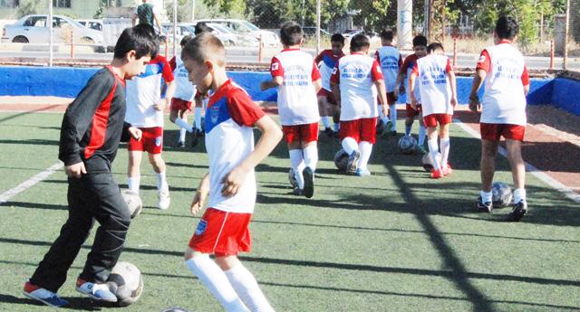 Hasan Doğan'da futbolcu fabrikası