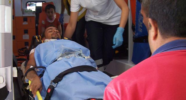 Korkutan kaza: 8 yaralı