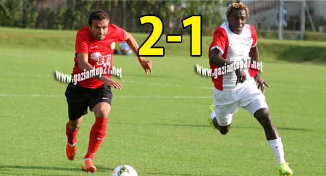 Muhammed ve Oğulcan atıyor Gaziantepspor kazanıyor 2-1