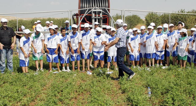 Çocuklara tarım eğitimi