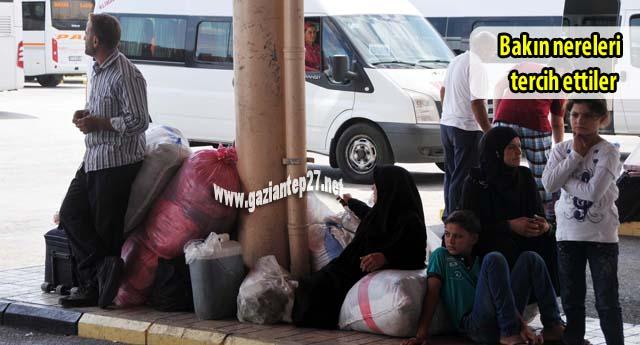 Suriyeliler Batı'ya gidiyor