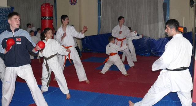 Karateciler Batman'a hazırlanıyor