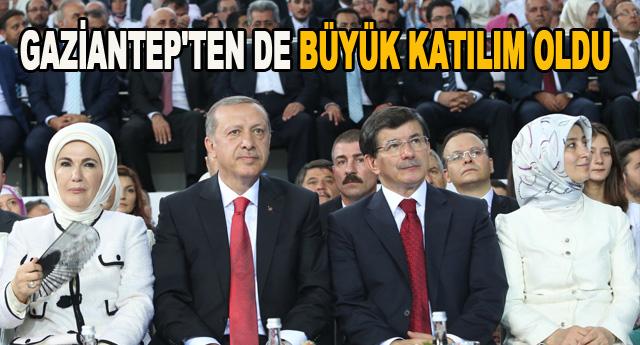 AK Parti'den göz kamaştıran kurultay