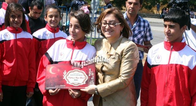 Yol Yarışlarının ödülleri verildi