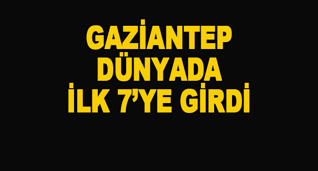 Dünya Bankası, Gaziantep'i Mercek Altına Aldı