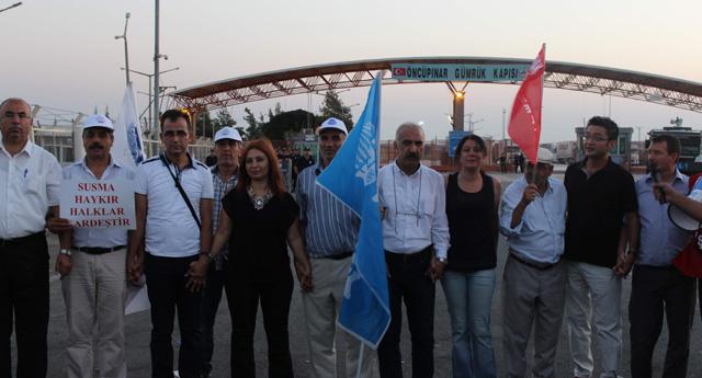 Sınırda barış eylemi