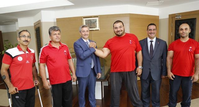 Şahinbey'de Avrupa şampiyonluğu