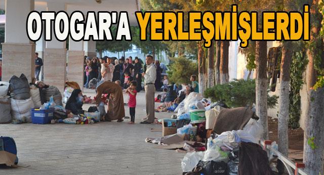 Suriyeliler gönderildi