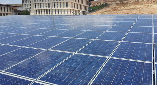 Güneş Enerjisiyle elektrik üretimi