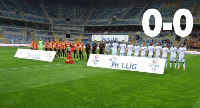 Kayseri'den puan çıktı 0 – 0