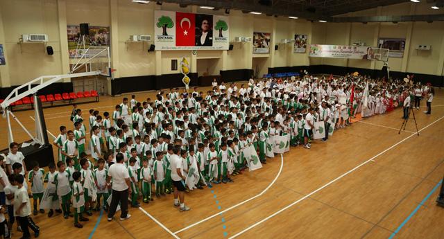 Spor okullarında Şehitkamil