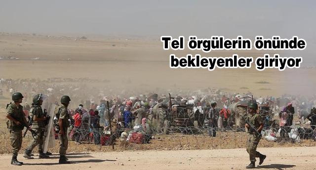Türkiye sınırı açtı