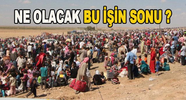 IŞİD sınırımıza dayandı