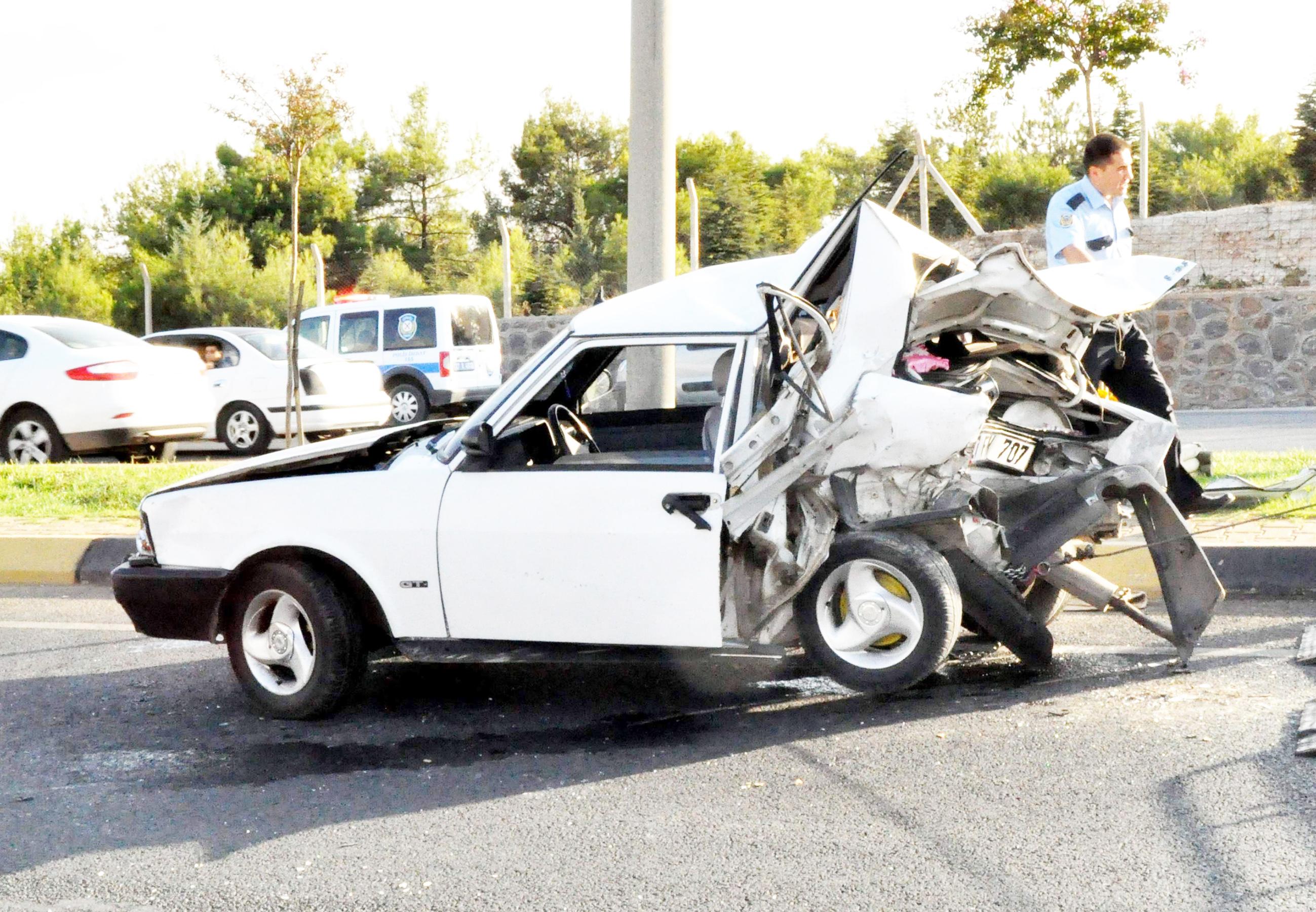 Trafik kazası can aldı