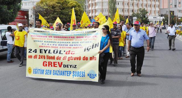 Eğitim Sen'den MEB protestosu